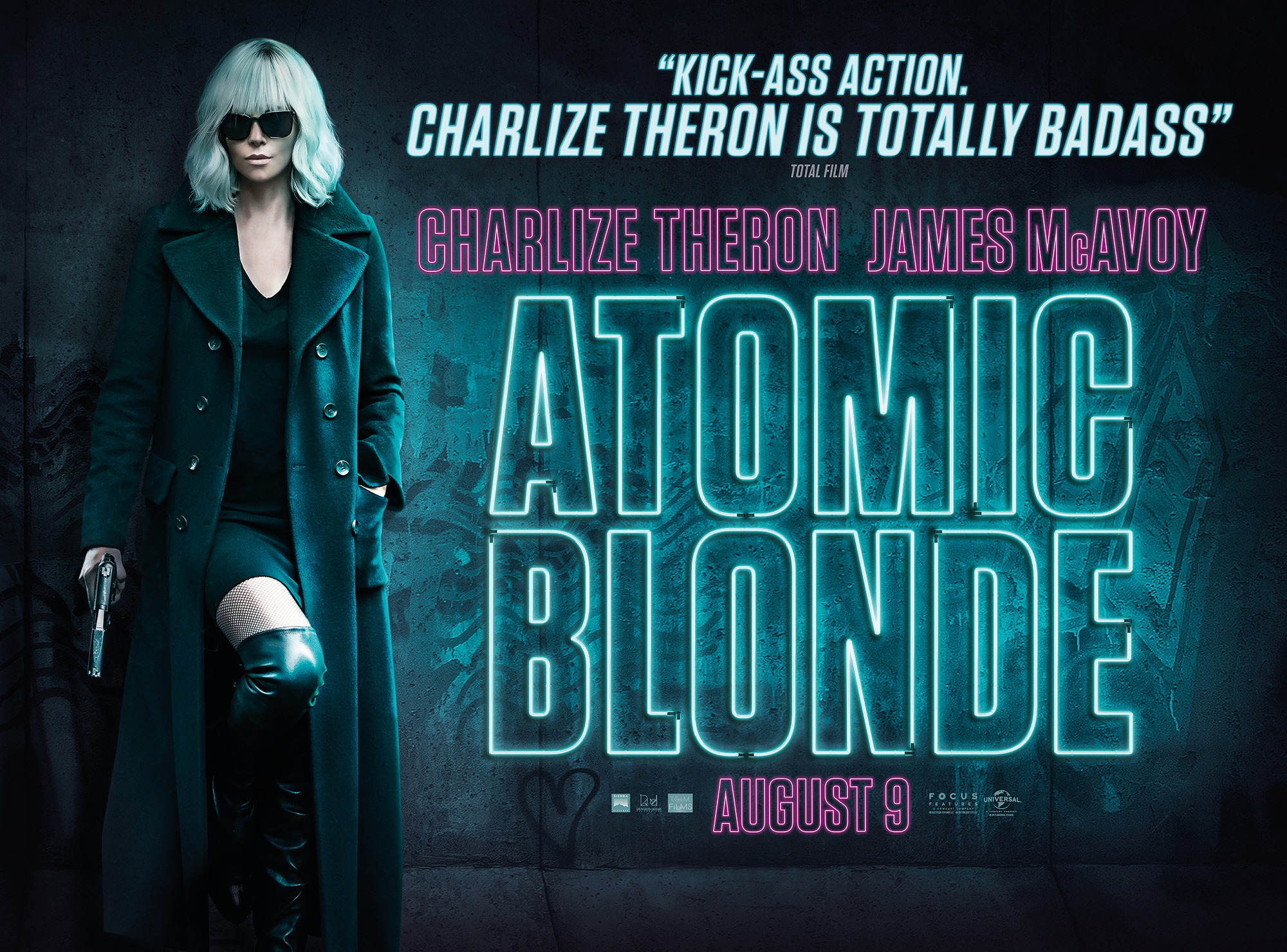 Image result for atomic blonde uk poster