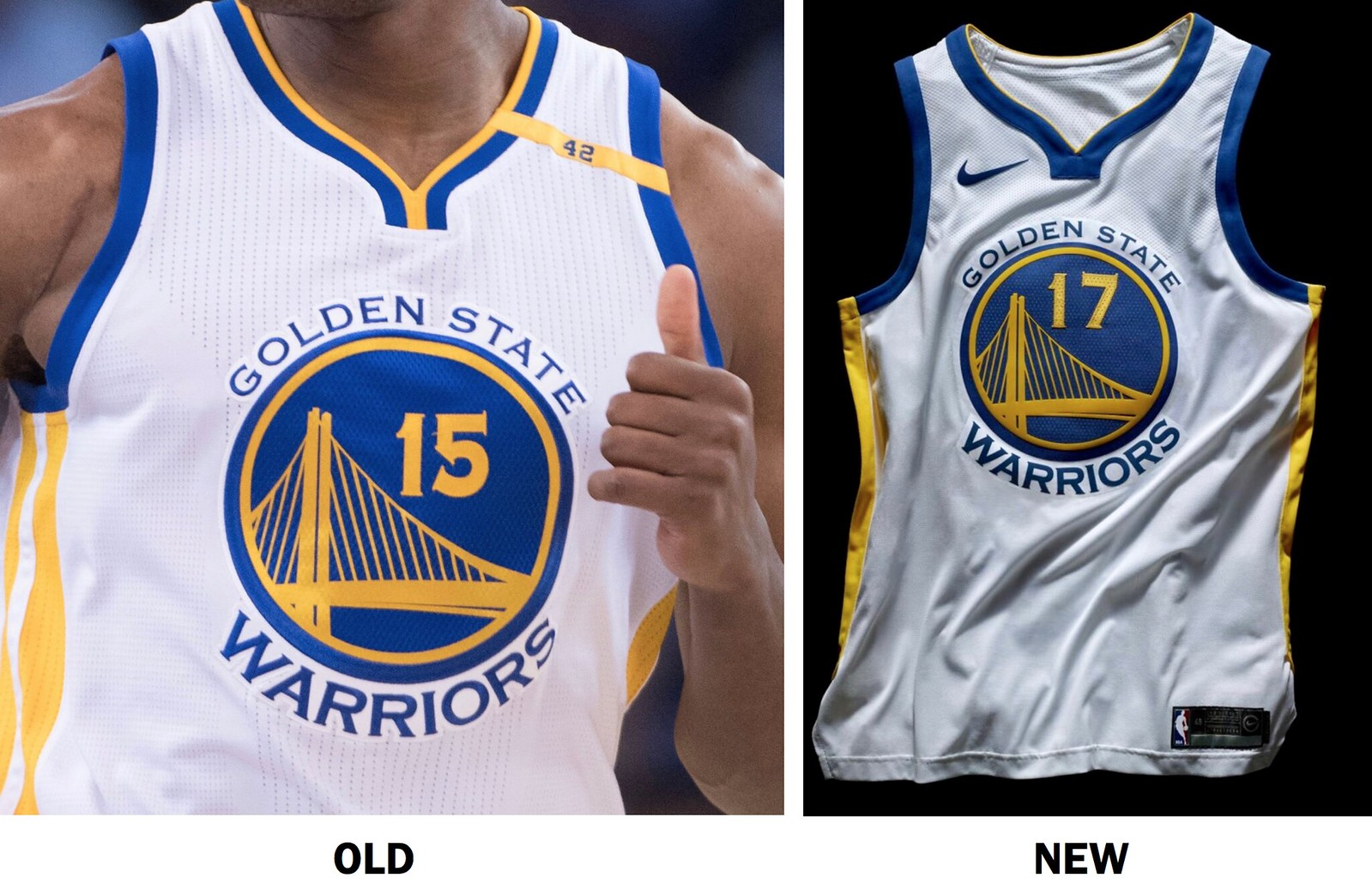 The NBA is slowly switching their uniforms from Adidas to Nike 182264264