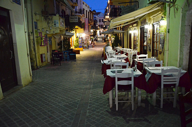 Backstreet, Chania old town, Crete