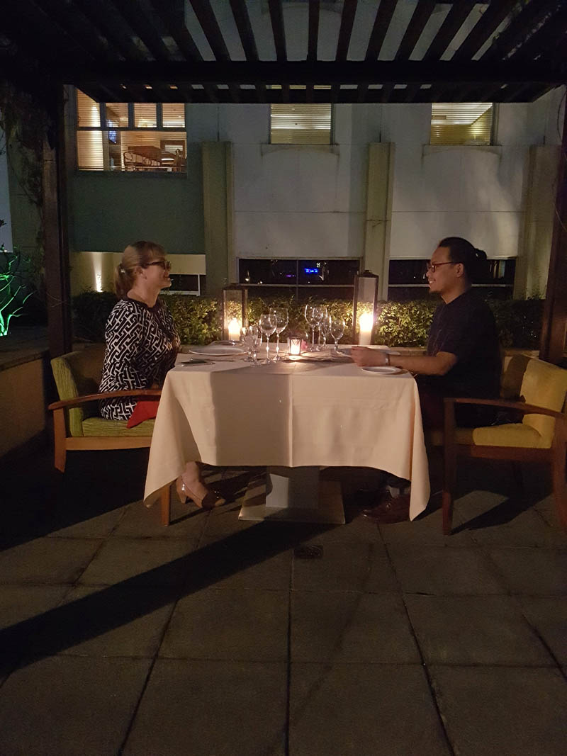 A Romantic Dinner By The Pool In Jakarta The Travel Junkie