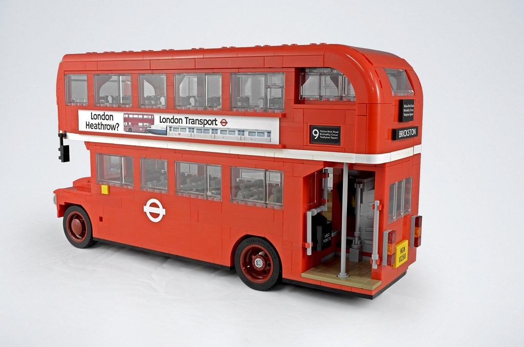 lego routemaster bus mod i recently picked up the lego 102 flickr. Black Bedroom Furniture Sets. Home Design Ideas