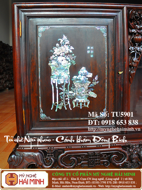 TU5901k  Tu che Ngu Phuc  Canh kham Dong Bich  do go mynghehaiminh