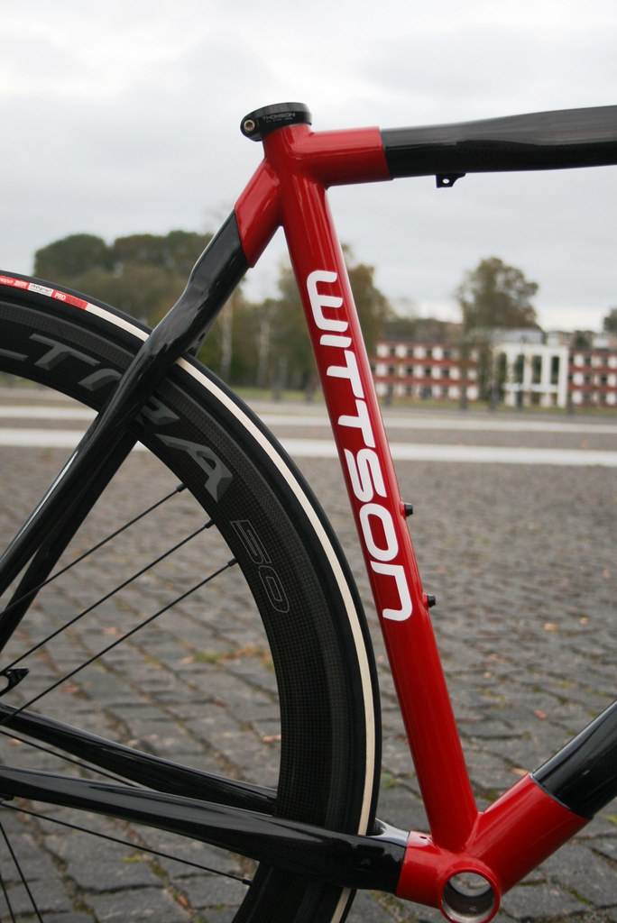 WITTSON Custom Road Carbon Frame with Titanium Lugs 135 | Flickr