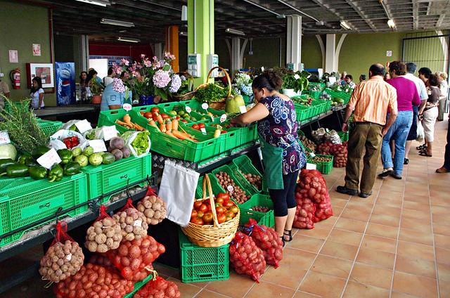Farmer's market, La Guancha, Tenerife