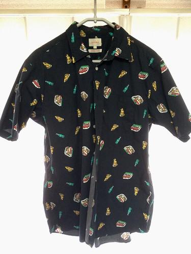 ピザのワイシャツ