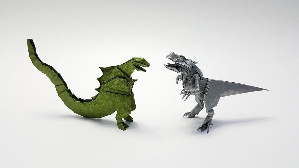 godzilla vs indominus rex godzilla satoshi kamiya