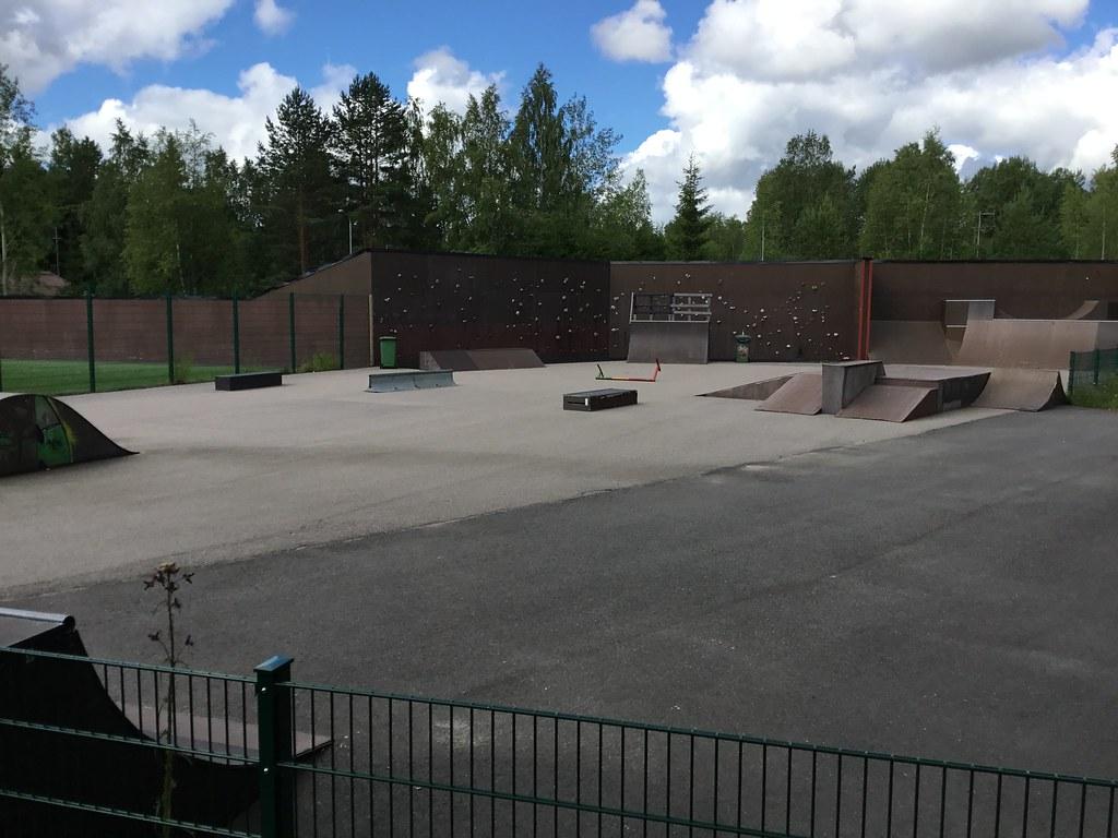 Kuva toimipisteestä: Metsämaan skeittipaikka (Kalajärvi)