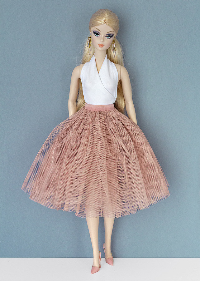 barbie tulle skirt