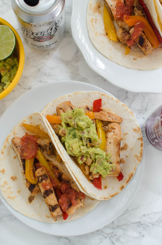 Chicken Fajitas - easy and delicious weeknight meal!