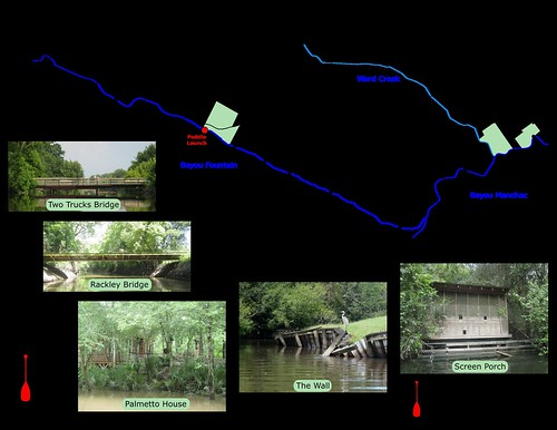 Paddle Trail Map
