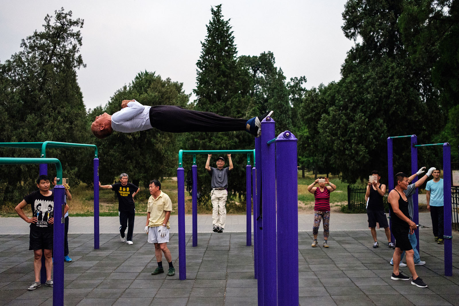 Park Fitness - Beijing, China | by Maciej Dakowicz