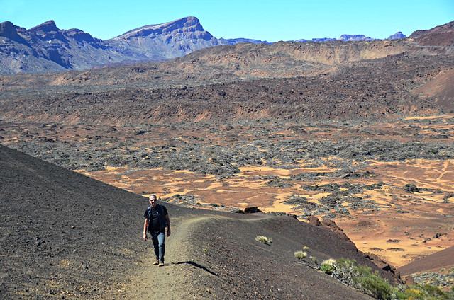 Steep, Teide National Park, Tenerife