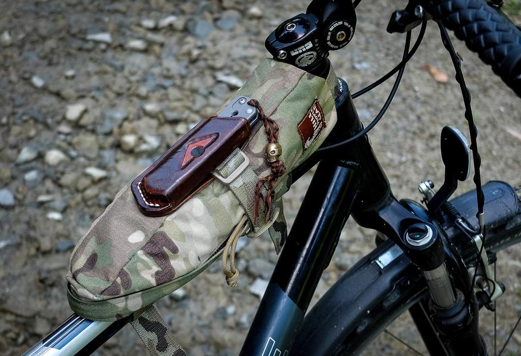 HPG Frame Bag – Biking Config | Pack Config