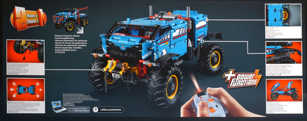 Review 42070 6x6 All Terrain Tow Truck Brickset Lego Set Guide