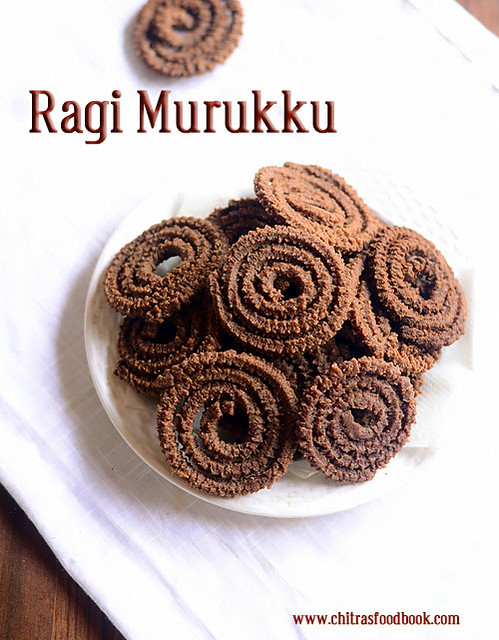 How to make ragi murukku