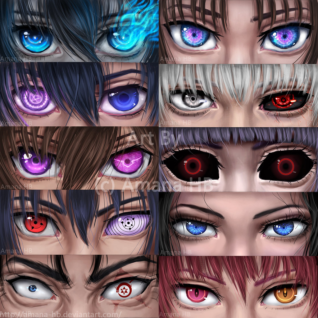 Can You Name All These Anime Eyes ?