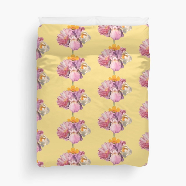 polly pattern duvet cover by laura redburn