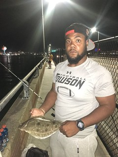 Keeper sized flounder caught in Ocean City