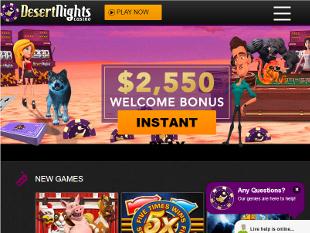 Desert Nights Casino Home