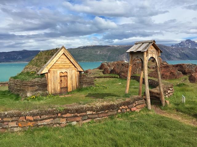 Iglesia vikinga de Qassiarsuk (Sur de Groenlandia)