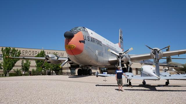 Douglas C-124C 'Globemaster II' & Cessna U-3A 'Blue Canoe'