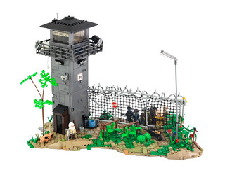 The Walking Dead - Prison | by Legopard