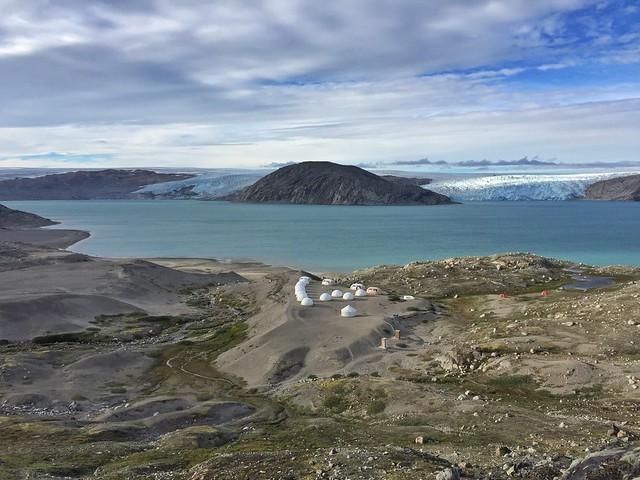 Campamento Fletanes en Qaleraliq (Tierras Polares en Groenlandia)