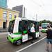 Self-driving bus line opening in Tallinn