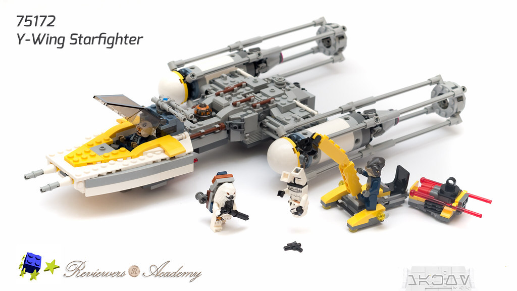 Review: 75172 Y-wing Starfighter, by makoy, on Eurobricks