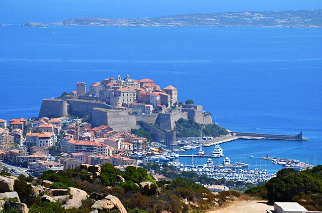 Calvi and its Citadel, Corsica
