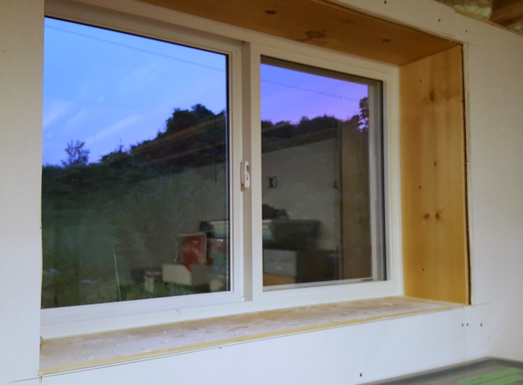 basement window replacement framing
