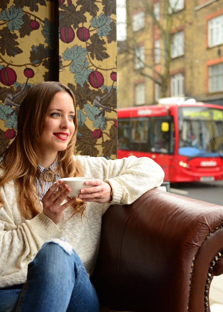 Cafetería Yumchaa del barrio de Camden Town de Londres