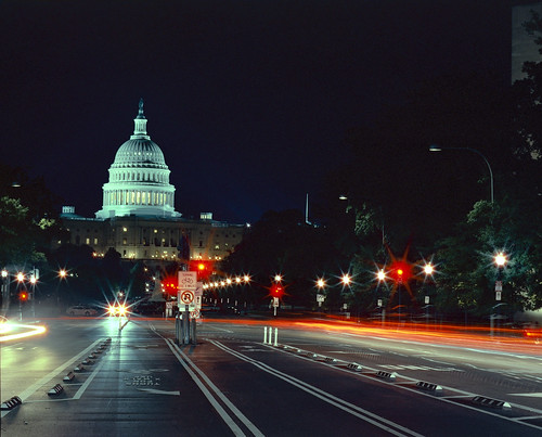 US Capitol long exposure | by filmrage03