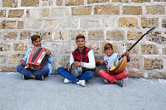 Street musicians, Chania, Crete