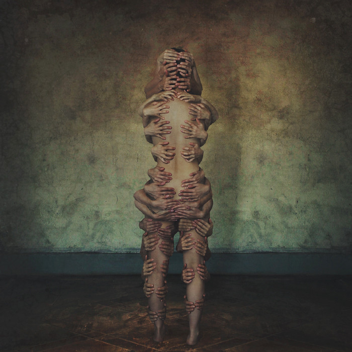 ... Torn Apart / Held Together | By Brookeshaden