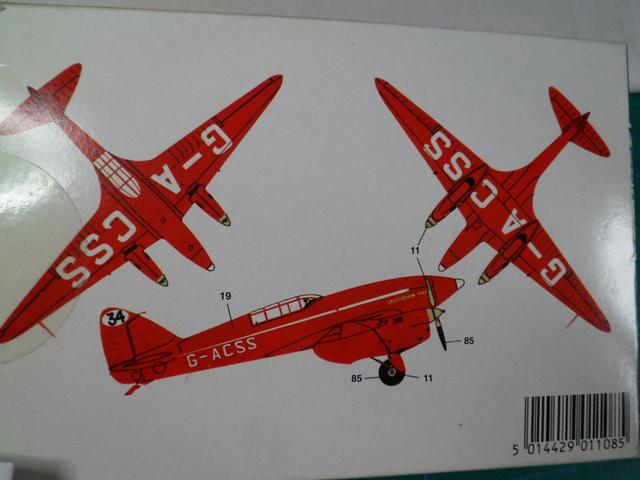 DE HAVILLAND D H88 kit Airfix 1959 36058211402_c2100b373c_z