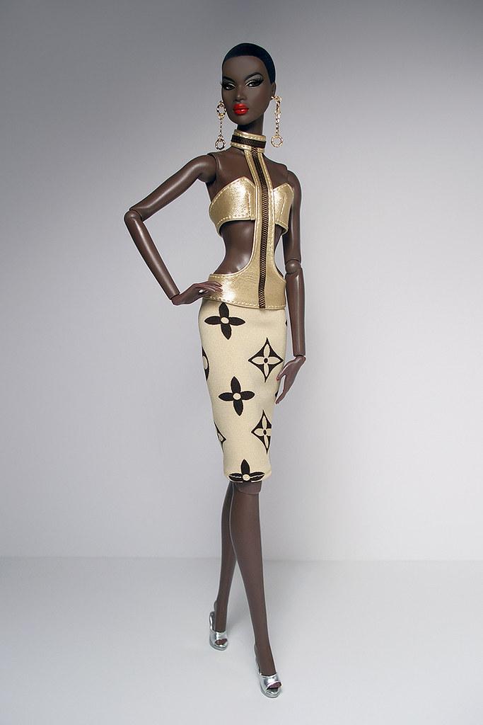 Dark Velvet Sporty Dress For Fr2 Nu Face Phicen Dolls Culte De Paris Flickr