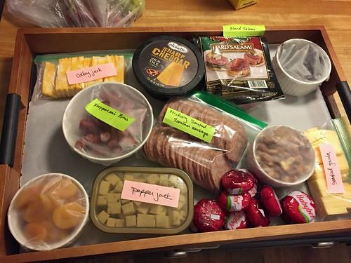 easy appetizers platter