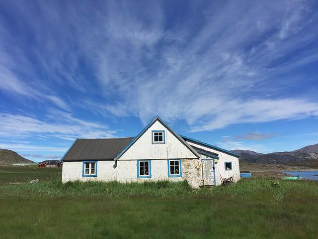Granja en Igaliku (Sur de Groenlandia)
