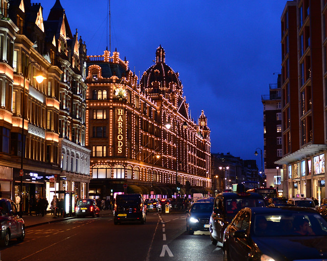 Almacenes Harrods, una visita imprescindible que hacer en Londres