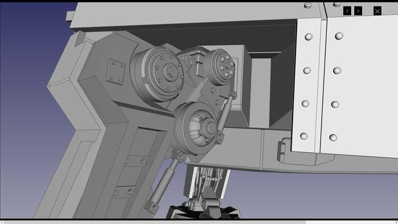 UA72107 3D 06 | par Cyber-Mecha
