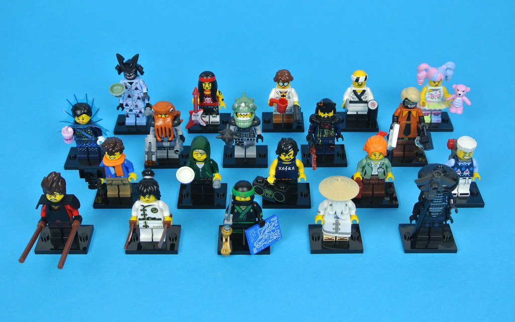 LEGO Collectable Minifigures 71019 LEGO Minifigures - The ...