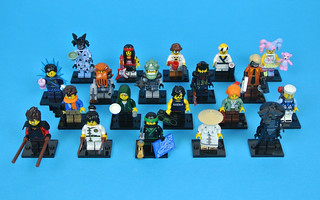Review: 71019 The LEGO NINJAGO Movie Collectable Minifigures (2)