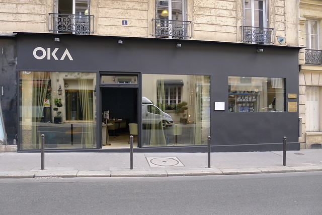 Restaurant OKA, Paris