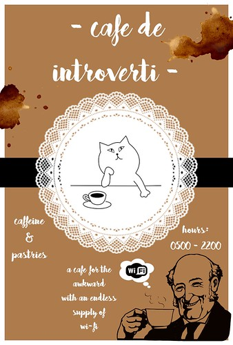 cafe de introverti | by simplytellingstories