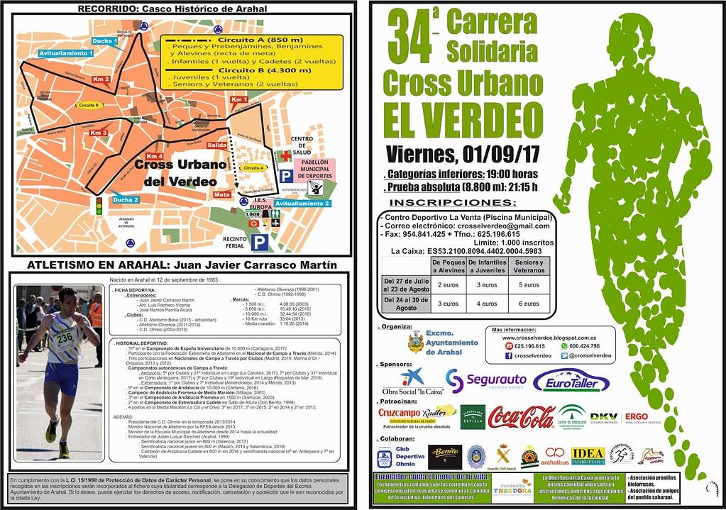 AionSur 35887475060_42e75a210f_b_d Abiertas las inscripciones para el 34 Cross Urbano El Verdeo Atletismo Deportes Feria del Verdeo