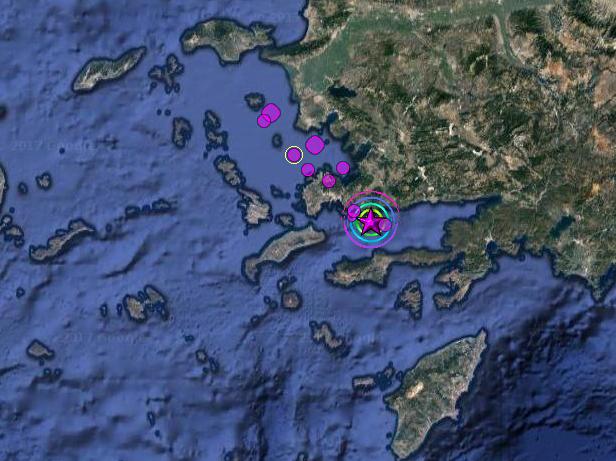 ΕΚΤΑΚΤΟ - 2 νεκροί από ισχυρό σεισμό 6,5R στη θαλάσσια περιοχή μεταξύ Κω - Τουρκίας