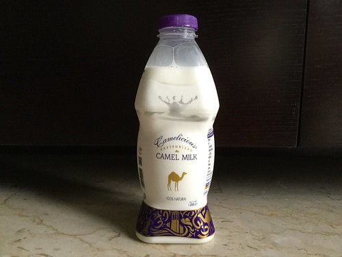 Camelicious Pasteurized Camel Milk from Dubai