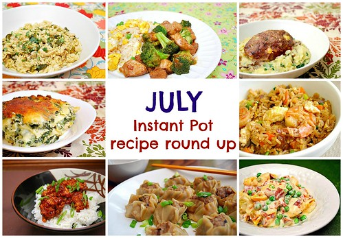 Instant Pot: July Recipe Round Up