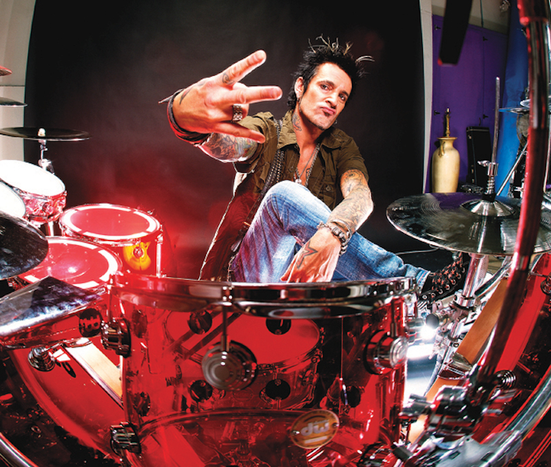 Tommy Lee's Drum Kit